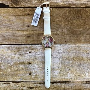 4 for $20 Charming Charlie Floral Rhinestone Watch